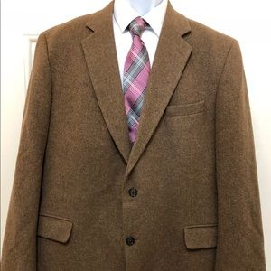 JOS. A. BANK 100% CAMEL HAIR JACKET GORDON Blazer